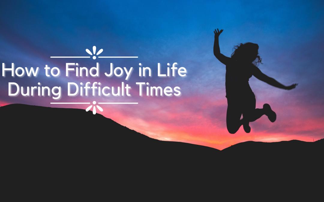 find joy in life