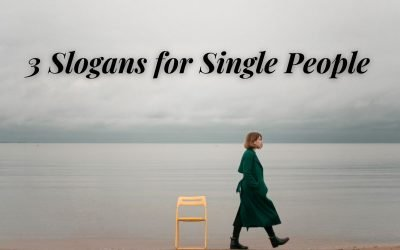 3 Slogans for Single People